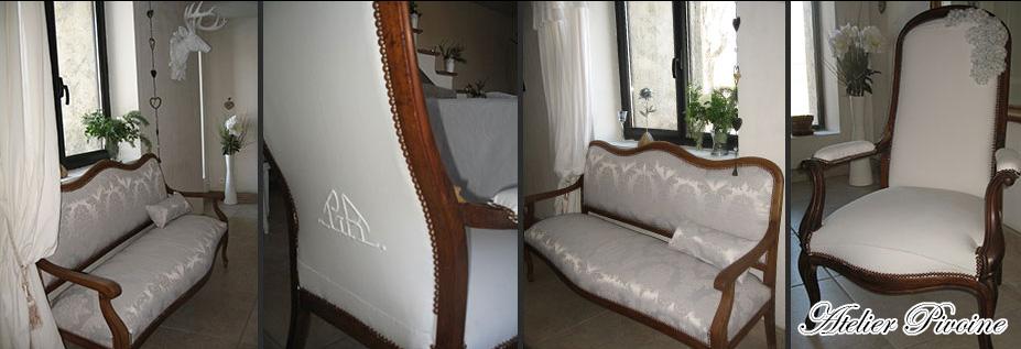atelier pivoine cr ation et r novation de fauteuils traditionnel et contemporain sault. Black Bedroom Furniture Sets. Home Design Ideas